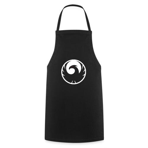 Phönix Logo Schattierung Phoenix weis white rund - Kochschürze