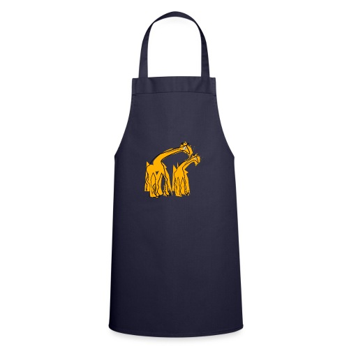 yellow giraffes - Grembiule da cucina