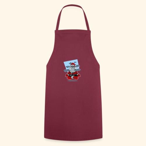 Papa Noël zen - Tablier de cuisine
