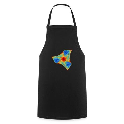 Colorful boomerang starfish sea creature 12117j - Cooking Apron