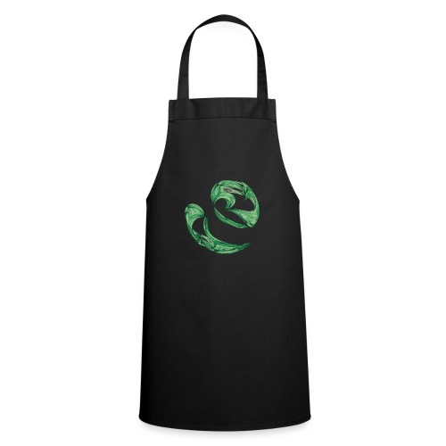 Unequal pair of green twins in the wind 7761alg - Cooking Apron