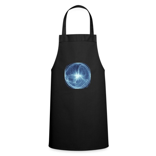 Watercolor art graphic painting picture chaos 13980 ice - Cooking Apron
