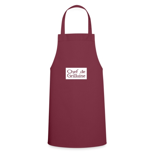 Chef de Grilluine - der Chef am Grill - Kochschürze