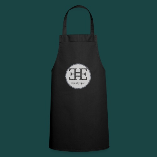 Black Male Tee 2 long - Cooking Apron