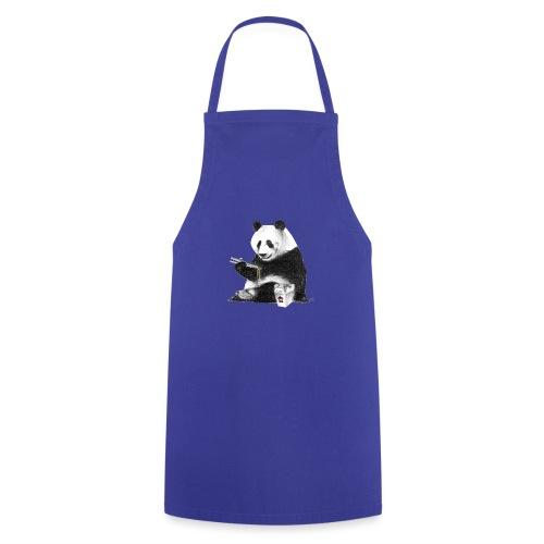 Panda Eating Noodles - Cooking Apron
