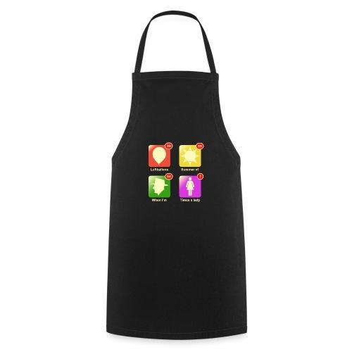 Muziek apps - Keukenschort