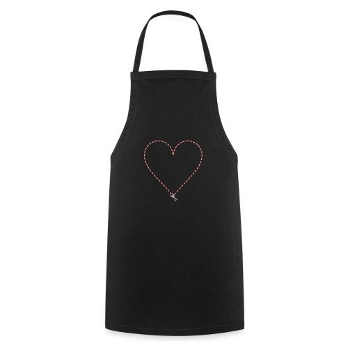 Coeur à découper - Tablier de cuisine