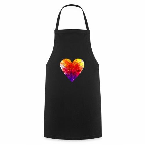 Herz Kristall - Kochschürze