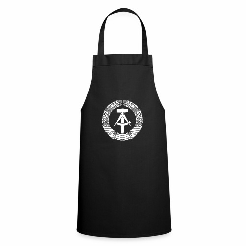 DDR Coat of Arms (white) - Cooking Apron