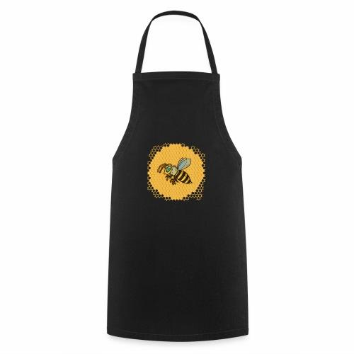 Hexagon Biene - Kochschürze