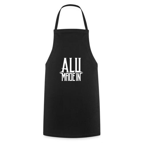 logo_alumadein_vecto_blan - Tablier de cuisine