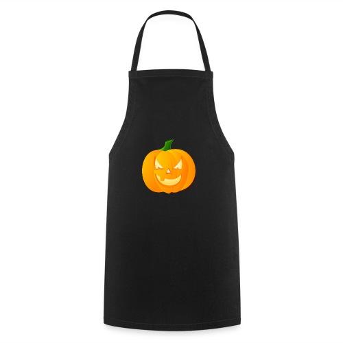 Kürbis Halloween Scary - Kochschürze