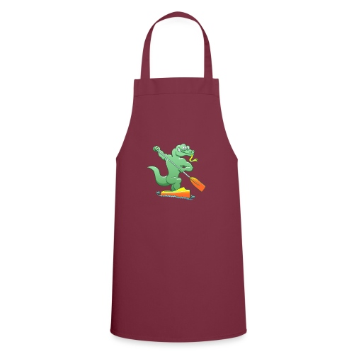 Water Monitor Competing in a Canoe Sprint Event - Cooking Apron