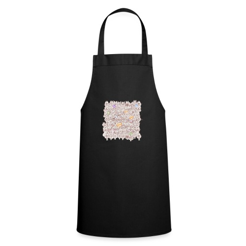 Funny cats posing in a meowing pattern - Cooking Apron