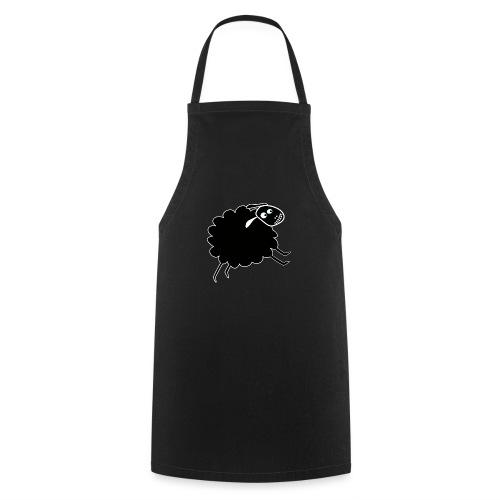 Schwarzes Schaf - Kochschürze
