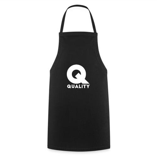 Quality White - Delantal de cocina