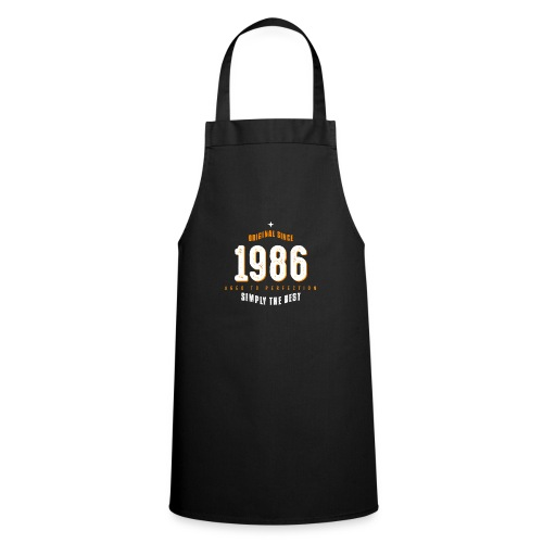 original since 1986 simply the best 30th birthday - Cooking Apron