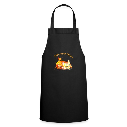 Chat roux,Félin pour l'autre - Tablier de cuisine