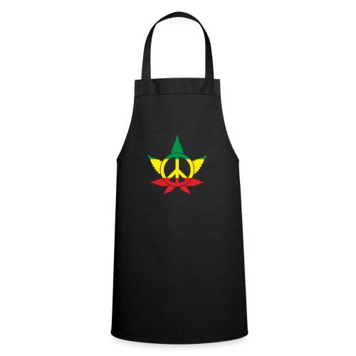 Peace färbig - Kochschürze