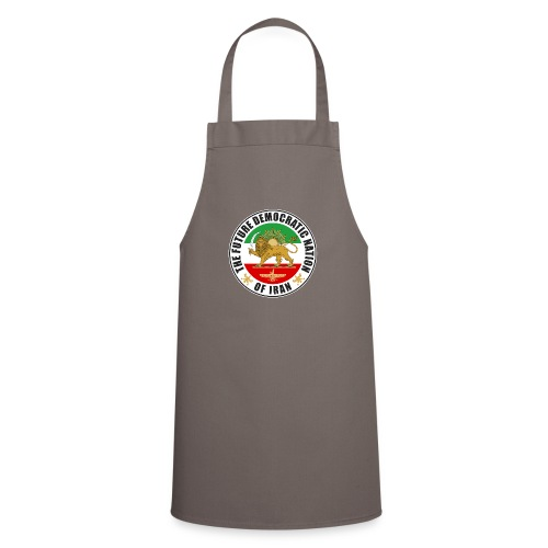 Iran Emblem Old Flag With Lion - Cooking Apron