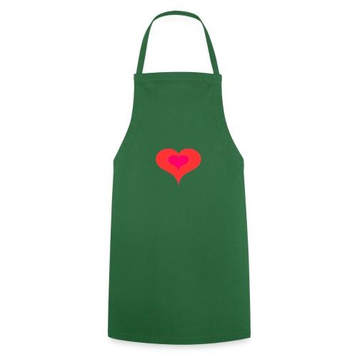 Corazon II - Delantal de cocina
