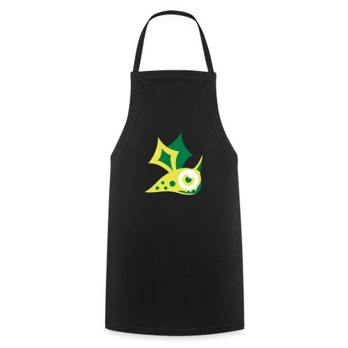 Monster grün - Kochschürze