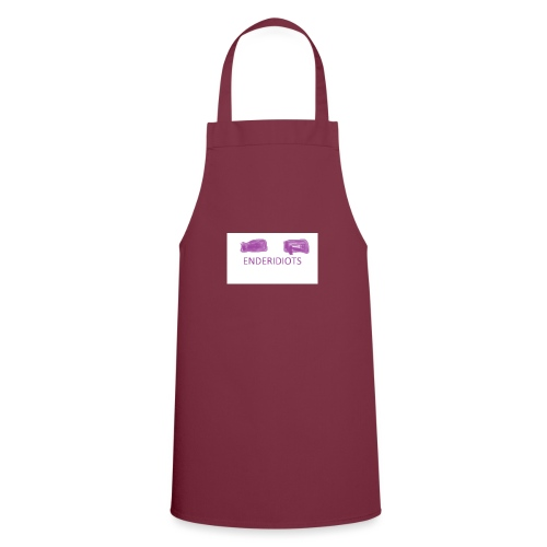 enderproductions enderidiots design - Cooking Apron