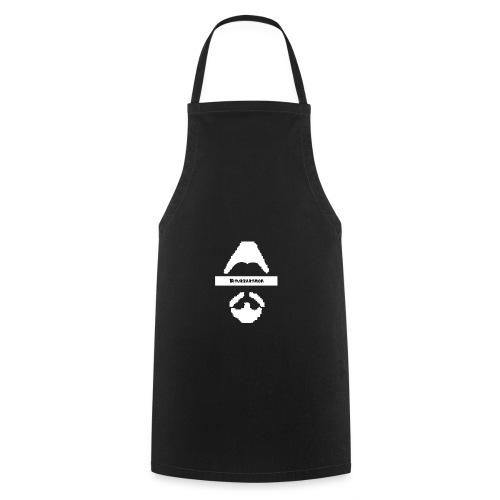 Biturzartmon Logo asiatisch weiss - Kochschürze