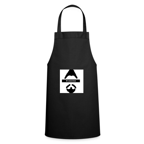 Biturzartmon Logo schwarz/weiss asiatisch - Kochschürze