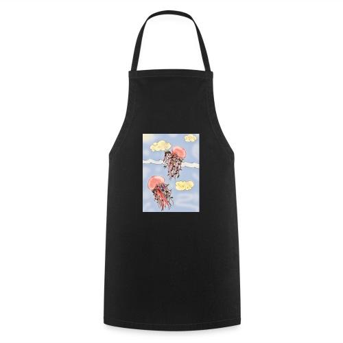 Méduses volantes - Tablier de cuisine