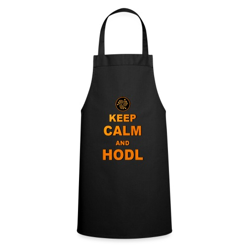 IOTA -keep calm and HODL - Kochschürze