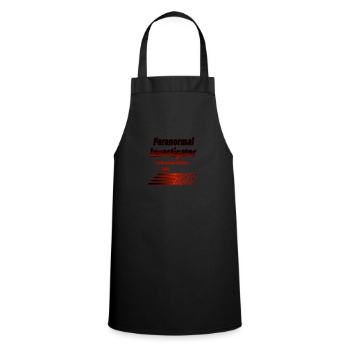 Paranormal Investigator - If Running, Run Faster - Cooking Apron