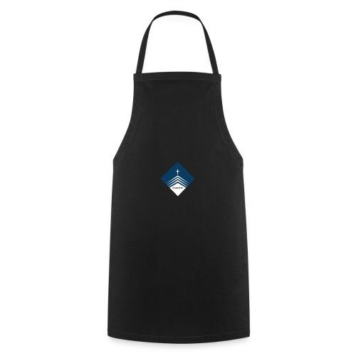 Stylische Kleidung mit tollem Logo. - Kochschürze