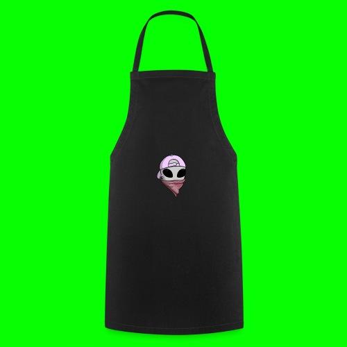 gangsta alien logo - Grembiule da cucina