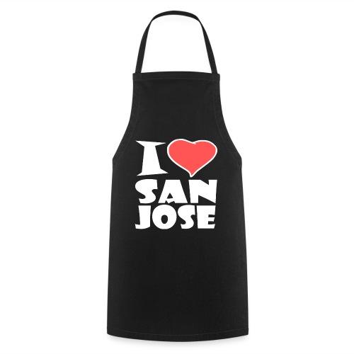 I love San Jose - Kochschürze