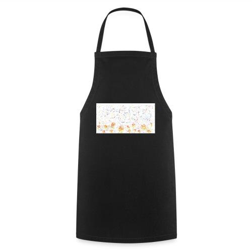 flores - Delantal de cocina