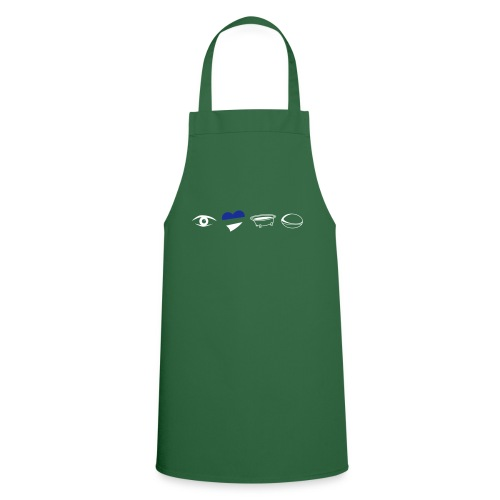 Eye Heart Bath Rugby - Cooking Apron
