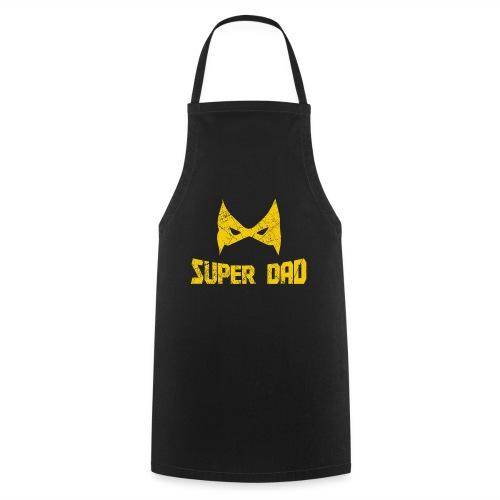 Vater Kind Partnerlook Super Dad Superheld - Kochschürze