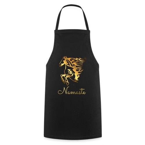 Namaste Horse On Fire - Kochschürze