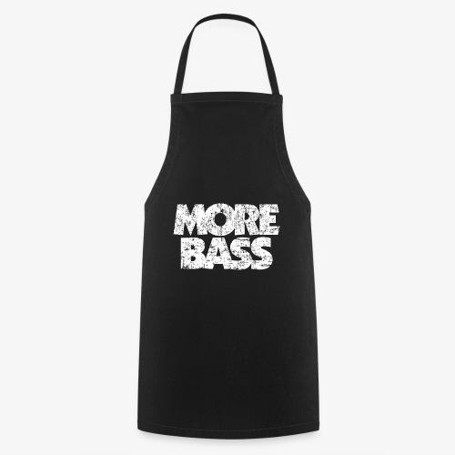 More Bass (Vintage/Weiß) Bassist Bassisten - Kochschürze