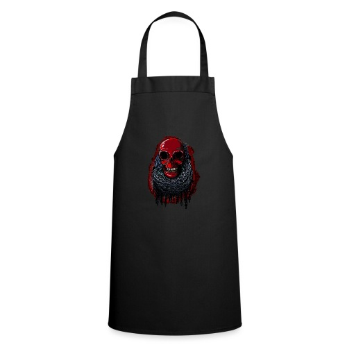 Red Skull in Chains - Cooking Apron