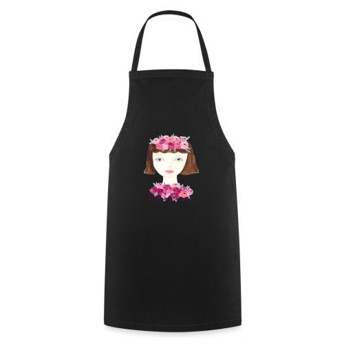 Flower Power Girl - Kochschürze