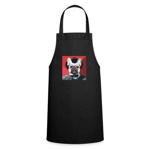 French Bulldog Artwork 2 - Kochschürze