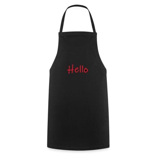 hello - Tablier de cuisine