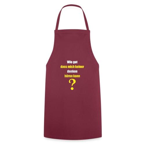 Schule Student Schueler Gedanke Shirt Geschenk - Kochschürze