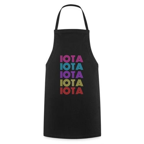 IOTA RETRO - 80s Kryptowährung - Kochschürze