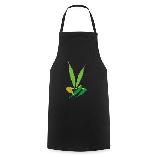 LeafHandDes3 png - Keukenschort