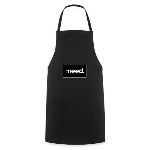 logo need official bg black - Tablier de cuisine