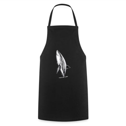 Gran tiburón blanco - Great white shark - Delantal de cocina