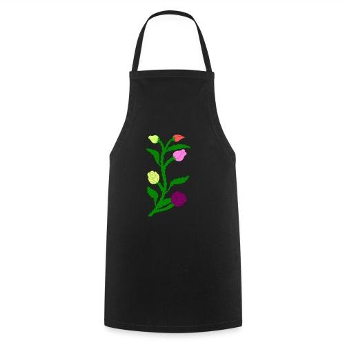 fleurs - Tablier de cuisine
